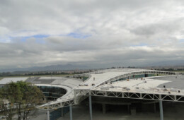 Cubierta Metálica Riverclack del Aeropuerto  Internacional El Dorado